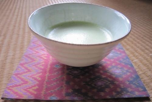 s-J-韓国茶碗_タイ絹絣