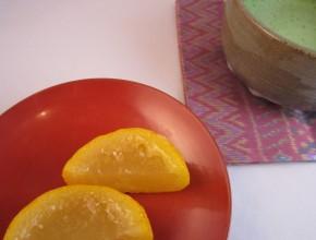 柚子羹と抹茶_縁結